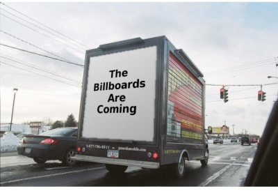 The Billboards Are Coming