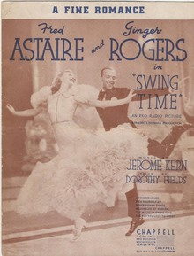 a fine romance, fred astaire, ginger rogers
