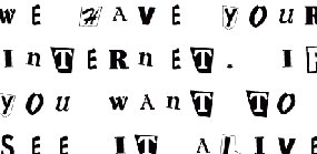 funny candy ransom notes examples pictures to pin on pinterest